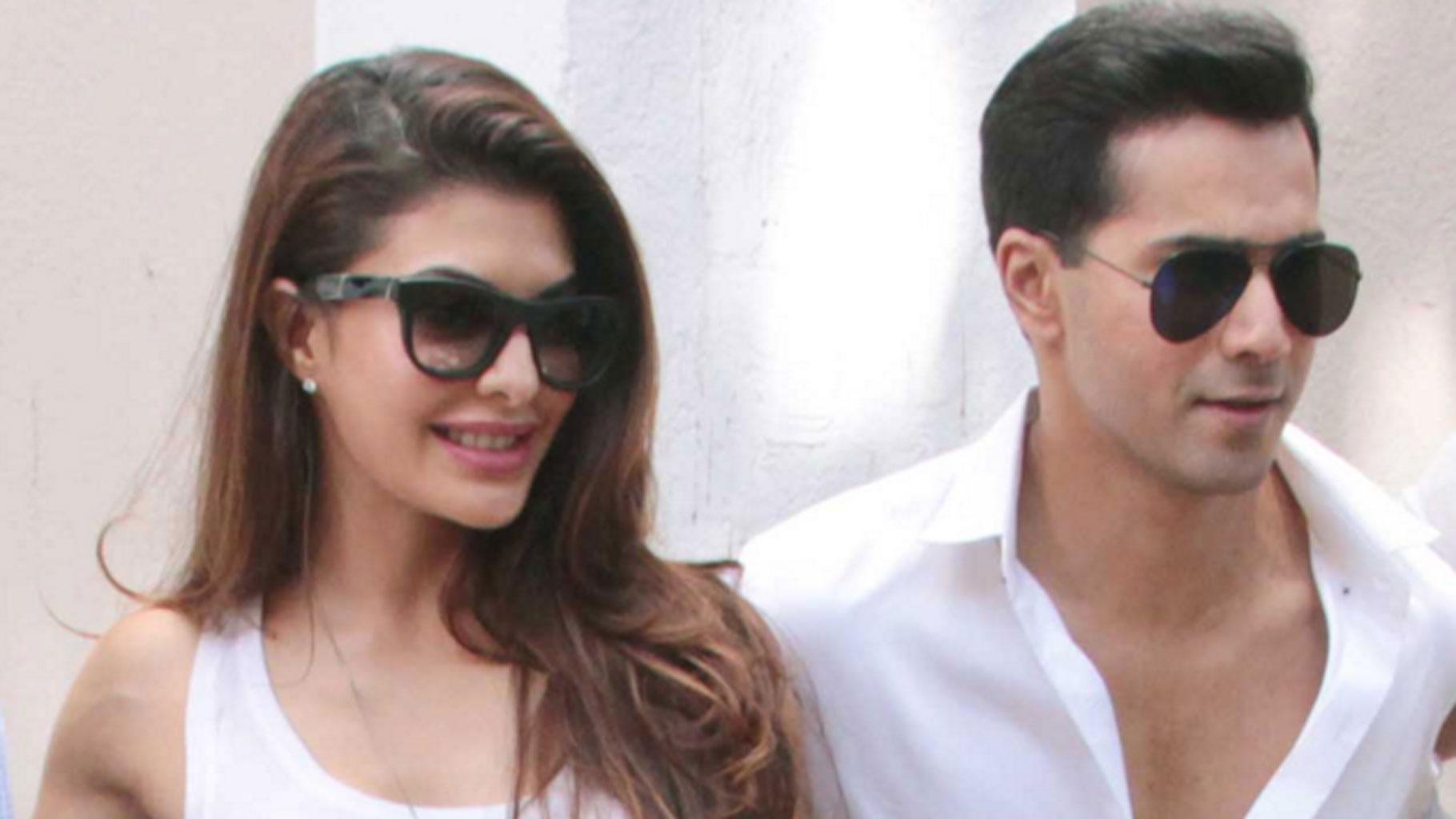 Varun Dhawan and Jacqueline