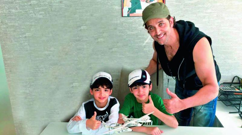 Hrithik and sons