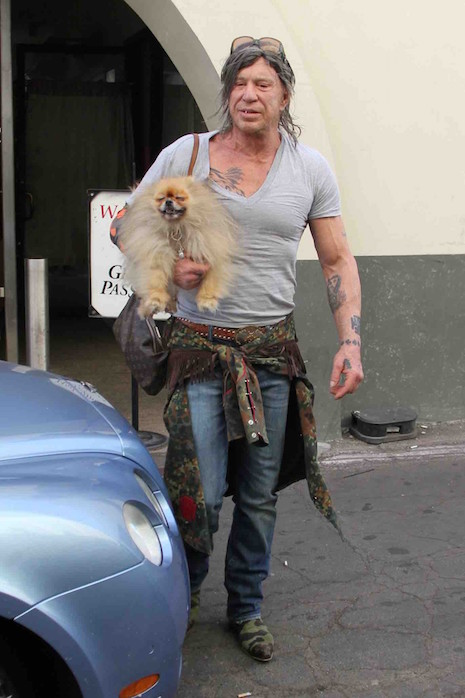Mickey Rourke: From Sexy Leading Man To This | Oye! Times