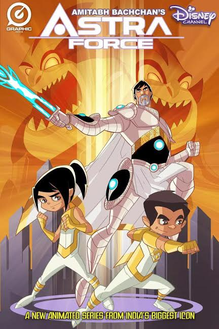 Check out Amitabh Bachchan as the animated superhero in Astra Force