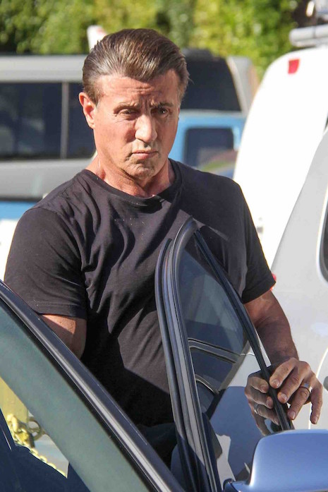 Sylvester Stallone Has The Hair Of A Twenty Year Old