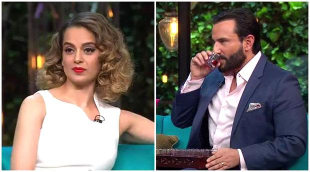 Koffee with Karan 5 Kangna Ranaut calls out Karan's nepotism; Saif Ali Khan and Shahid Kapoor's drama over Kareena Kapoor Khan2