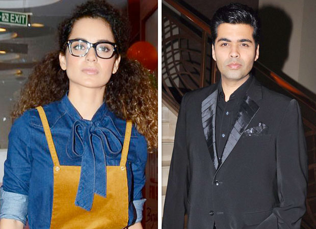 """""""Kangna Ranaut…who's stopping you on a gun point to be in movies, do something else - Karan Johar features"""