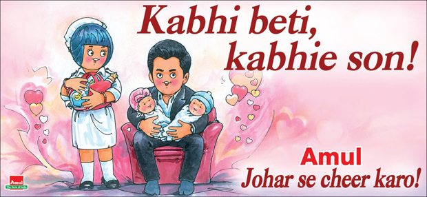Amul's latest take on Karan Johar's kids is very Dharma style