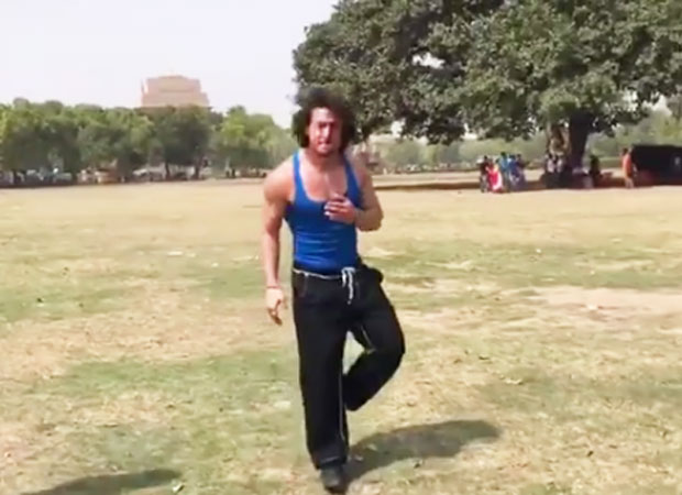 Here's what Tiger Shroff does as a warm up for Munna Michael