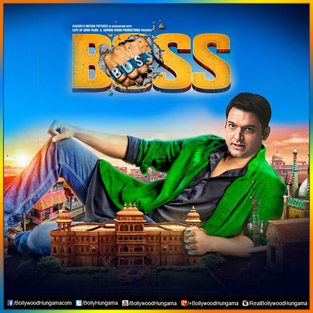 Hilarious After Akshay Kumar, Kapil Sharma wants to be the next BOSS Features