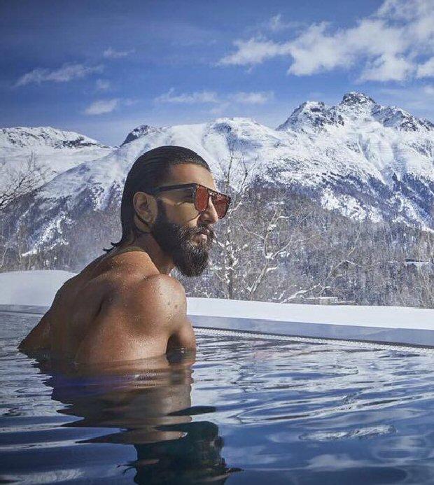 Ranveer Singh goes skinny dipping in Switzerland