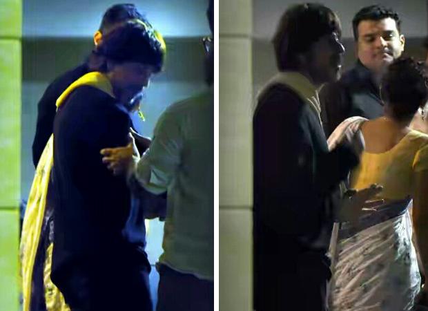 Shah Rukh Khan visits Aamir Khan's residence to wish him on his birthday