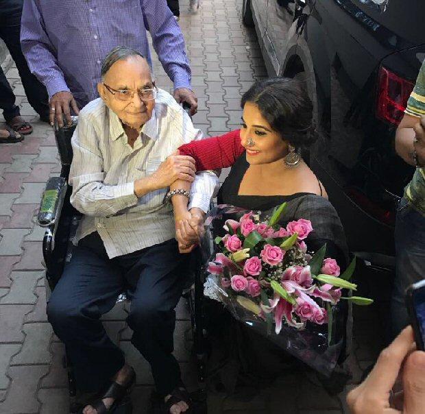 Vidya Balan gets emotional 1