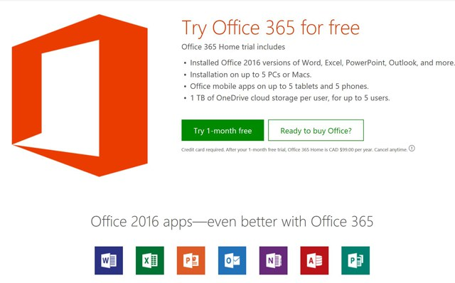 Office 365 in Windows Creators Update (photo NJN Network)