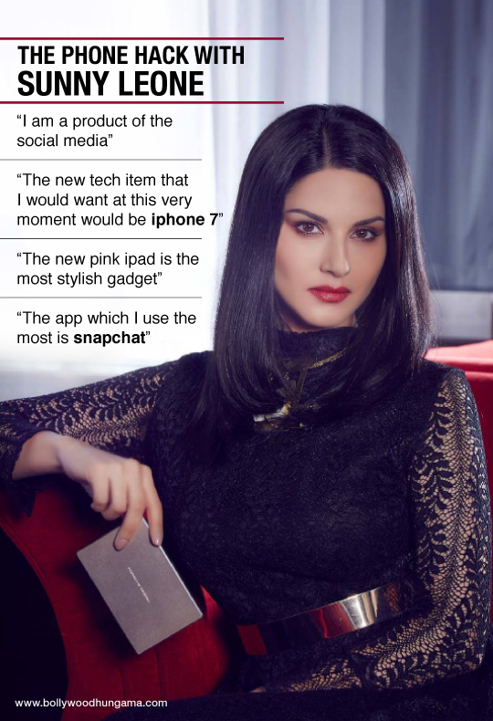 The phone hack with Sunny Leone