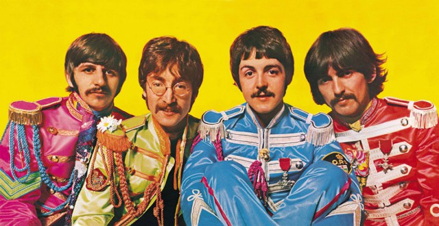 Inside cover Sgt. Pepper's Lonely Hearts Club Band (Capital Records)