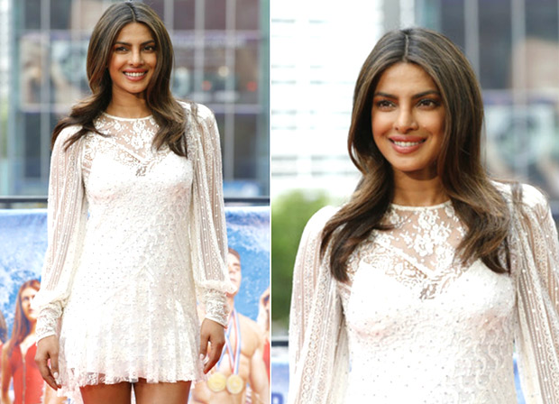 Check out: Priyanka Chopra looks fabulous in lace mini dress at the Baywatch premiere in Berlin