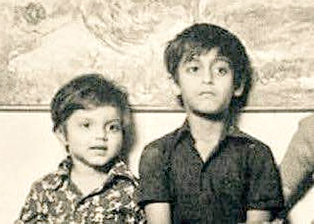 CUTE: This image of Salman Khan and brother Sohail Khan from their childhood is just adorable
