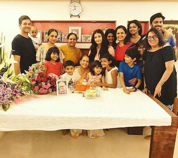 Aishwarya Rai Bachchan celebrates mom Vrinda Ria's birthday with Aaradhya Bachchan