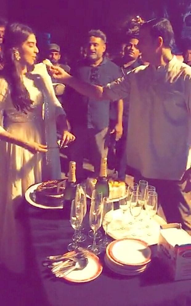 Akshay Kumar and Sonam Kapoor celebrate 2