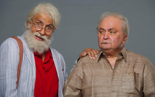 FIRST LOOK Amitabh Bachchan and Rishi Kapoor reunite as father and son in this quirky film 102 Not Out