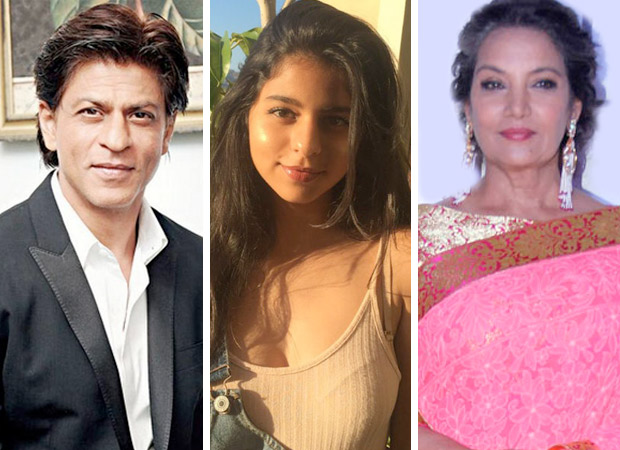 Here's how Shah Rukh Khan responded when Shabana Azmi said Suhana Khan will be good actor