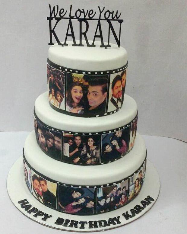 OMG! Here's what Karan Johar's 45th birthday cake looked like