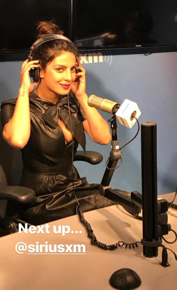 REVEALED: What was Priyanka Chopra doing at a New York radio station!