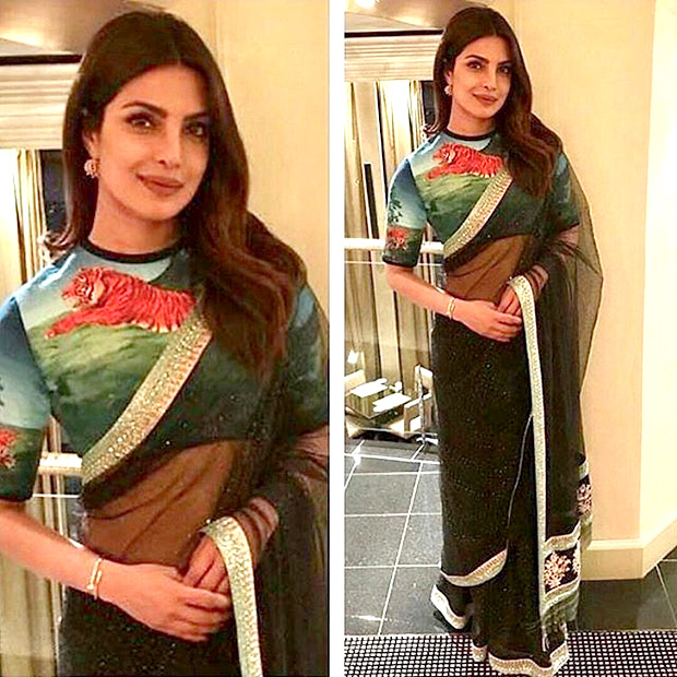 Priyanka Chopra wore a saree for UNICEF1
