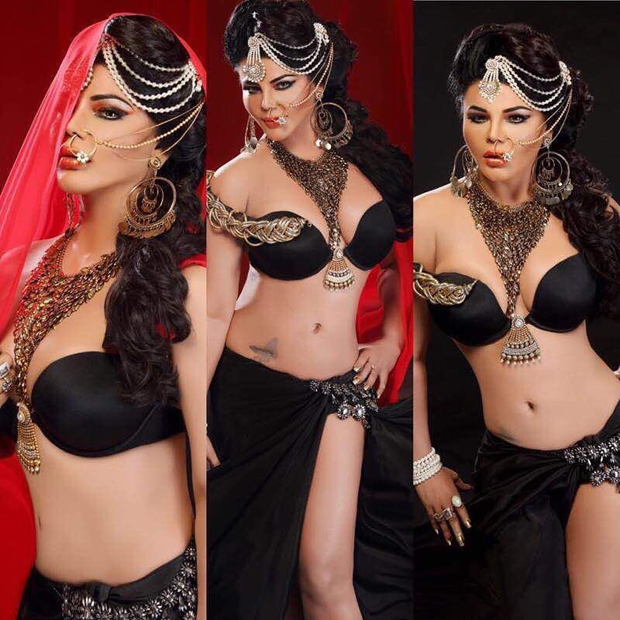 Rakhi Sawant sports more jewellery than clothes in these pics-1