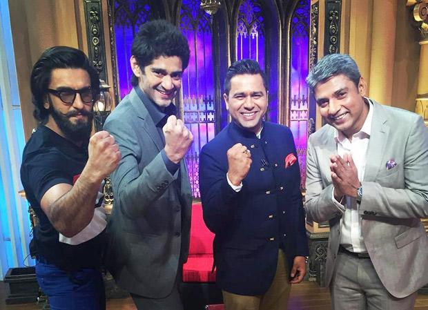 Ranveer Singh gets the IPL fever