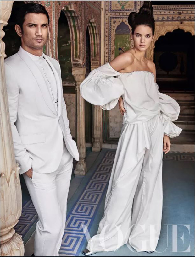 Sushant Singh Rajput and supermodel Kendall Jenner raise the temperatures playing muse to Mario Testino for Vogue India-3