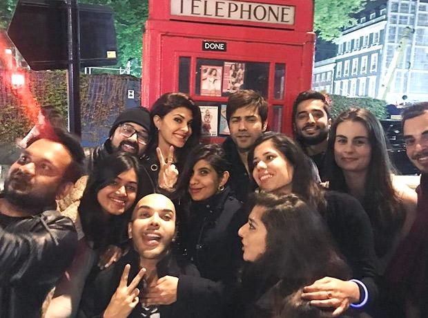 Varun Dhawan and Jacqueline Fernandez are having mad