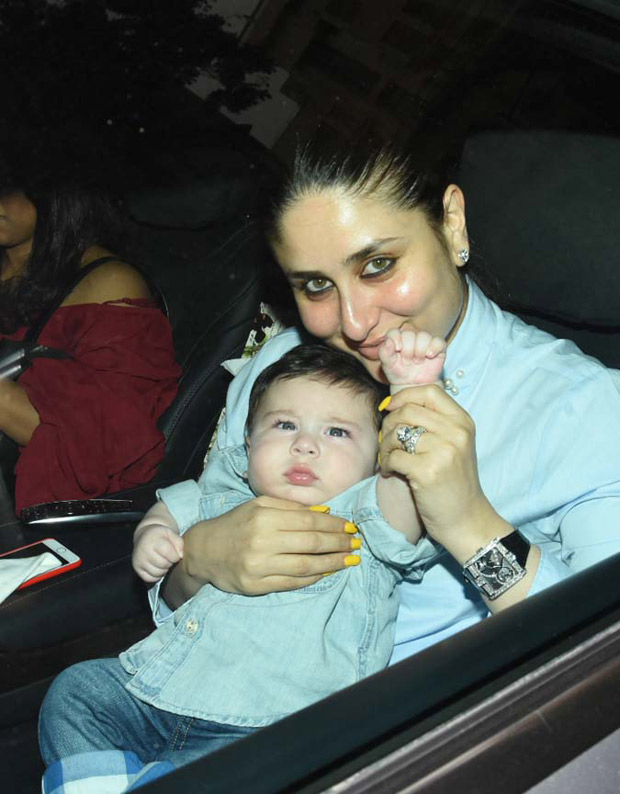 Taimur Ali Khan steals the limelight on his night out with mom Kareena Kapoor Khan at Tusshar Kapoor's son Laksshya's 1st birthday