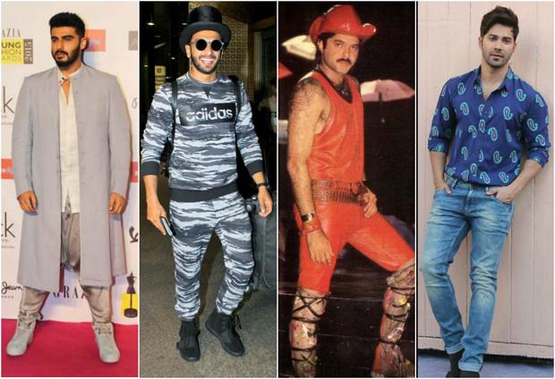 Anil Kapoor challenges Arjun Kapoor, Ranveer Singh and Varun Dhawan to beat his 90s red hot fashion