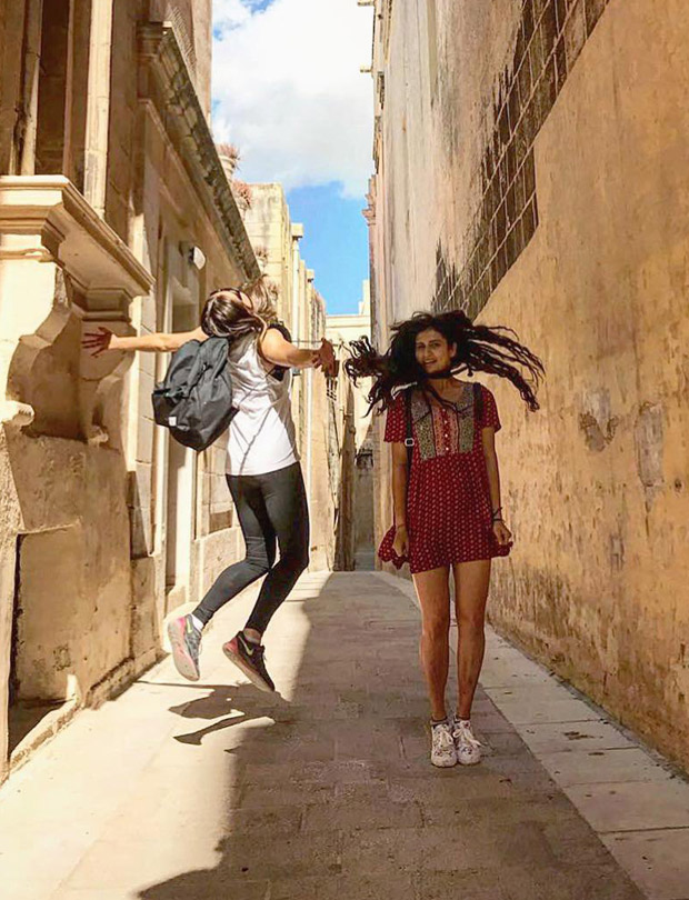Behind the Scenes Fatima Sana Shaikh is living the Malta life while filming Thugs of Hindostan-2