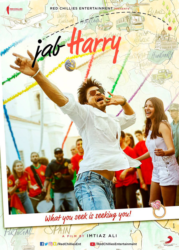 FINALLY! Imtiaz Ali's film with Shah Rukh Khan and Anushka Sharma gets a title! Find out what it is...1