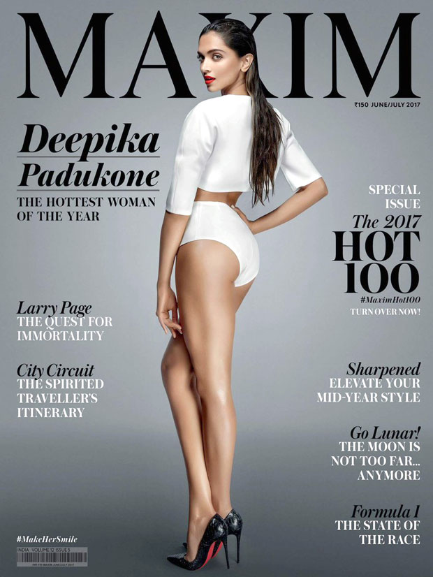 HOLY SMOKES Deepika Padukone is bringing sexy back with this sultry cover of Maxim India