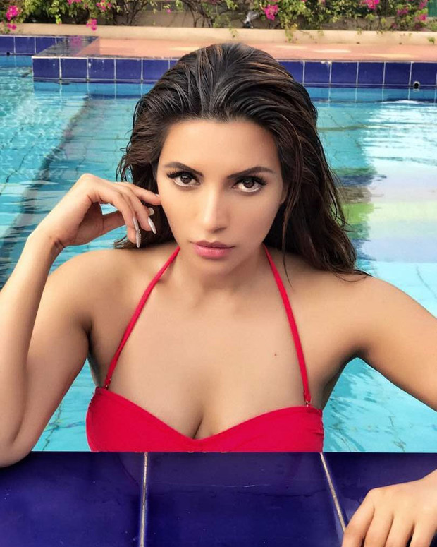 HOT! Shama Sikander sizzles in this SEXY red swimsuit1