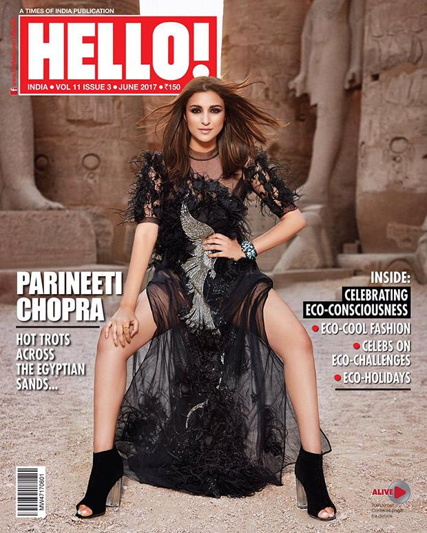 HOTTIE ALERT Parineeti Chopra looks fierce against the Pyramids of Egypt for Hello magazine-1