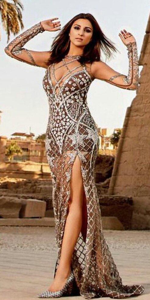 HOTTIE ALERT Parineeti Chopra looks fierce against the Pyramids of Egypt for Hello magazine-3