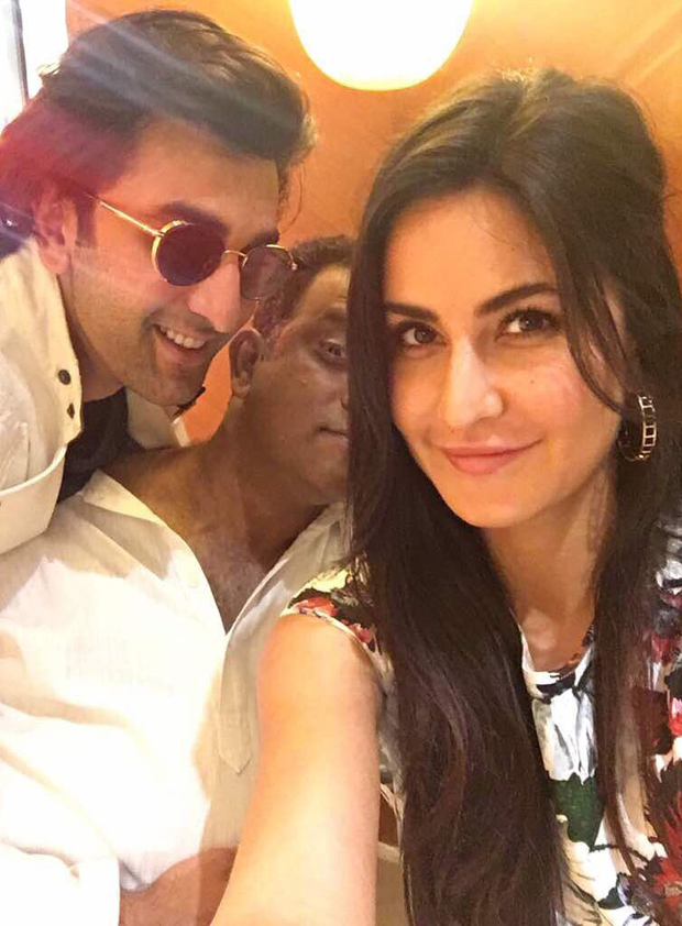 Katrina Kaif shares a cute selfie with Ranbir Kapoor and it is melting our hearts