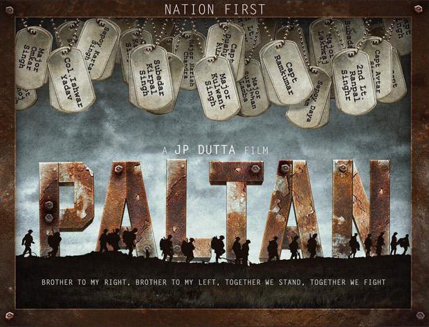REVEALED The names of the LEADING MEN of J.P. Dutta's Paltan