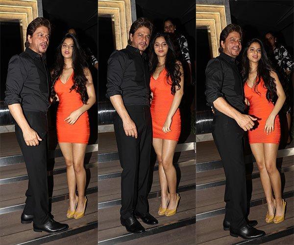 Shah Rukh Khan's daughter Suhana Khan steals the limelight at Gauri Khan's restaurant opening-1