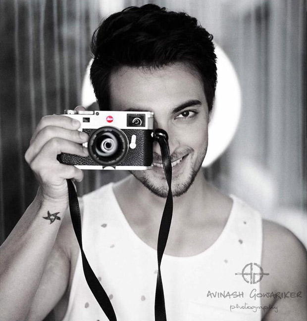 This is the picture of Salman Khan's brother-in-law Aayush Sharma for a photoshoot and it proves that he is star material