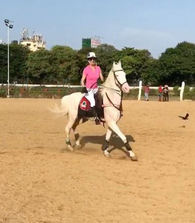Watch Kangna Ranaut takes horse riding lessons for Manikarnika The Queen of Jhansi (2)