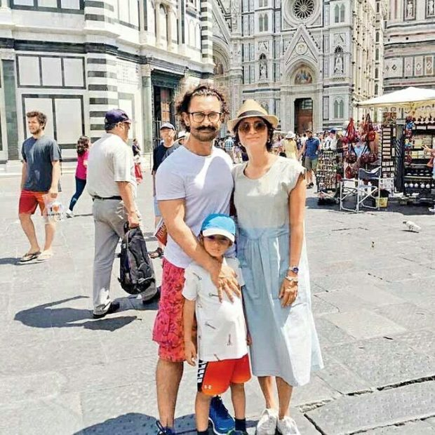 Aamir Khan takes a family trip2