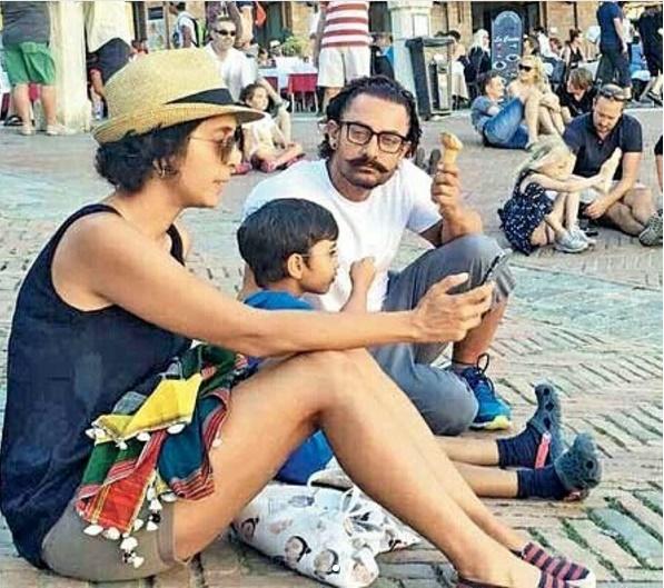 Aamir Khan takes a family trip3