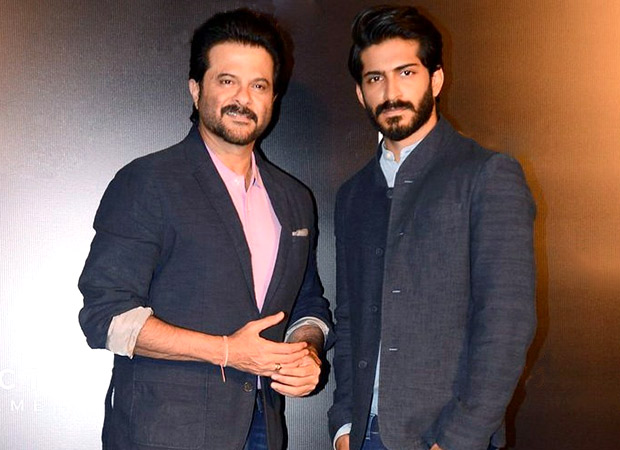Anil Kapoor and his son Harshvardhan
