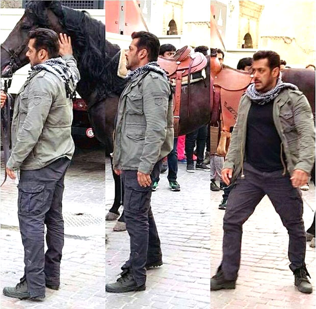 Check out Ali Abbas Zafar gives the new glimpse of Salman Khan's look during Morocco shoot of Tiger Zinda Hai-2