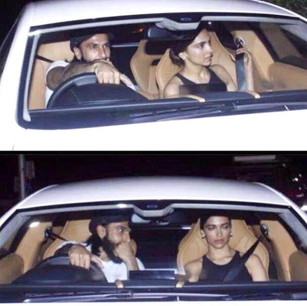 Check out Birthday boy Ranveer Singh makes it a date night with Deepika Padukone, flaunting his new Aston Martin