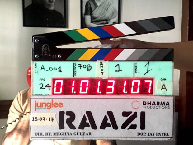 Check out Meghna Gulzar's film Raazi starring Alia Bhatt- Vicky Kaushal goes on floor