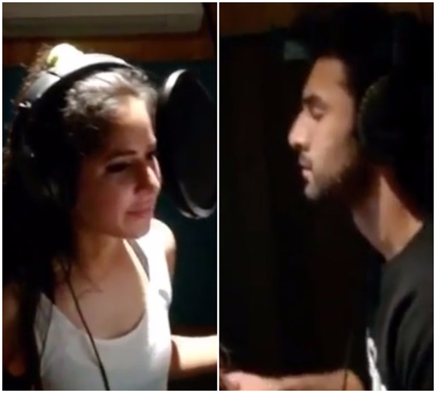 WATCH: Ranbir Kapoor and Katrina Kaif can't stop bickering in this dubbing session of Jagga Jasoos