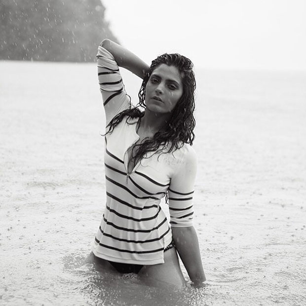 HOT! Saiyami Kher's new black-and-white picture is super sizzling!